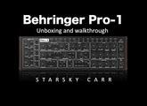 Behringer Pro-1: Unboxing Demo and Walkthrough
