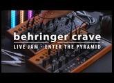BEHRINGER CRAVE - live jam / enter the pyramid