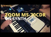 ZOOM MS-70CDR on synth