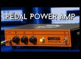 Pedal Power Amp! Orange Pedal Baby vs. SD Power Stage 170