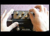 HARTKE - BASS ATTACK Preamp and EQ test