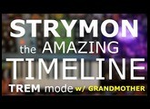 the AMAZING TIMELINE - The TREM mode 10 minutes w/ Moog's GRANDMOTHER