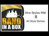 Band-in-a-Box® - Xtra Styles PAK 8 Demos