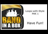 Band-in-a-Box® - Loops-with-Style PAK 1 Demos