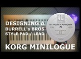 [SOUND DESIGN]   Designing a Burrell Bros style lead pad on the WONDERFUL  Minilogue by Korg Fr+subs