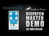 Earthquaker Devices - Dispatch Master V3 Guitar Effect Pedal Demo w/Andy Hillier