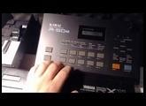 Tryout Kawai R50E drummachine - Industrial sounds