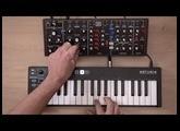 Design sonore sur le model D : basse à la Rick Wakeman (Yes)