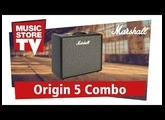Marshall Origin 5C Combo Guitar Amp Demo (english)