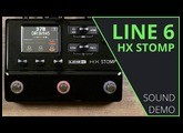 Line 6 HX Stomp - Sound Demo (no talking)