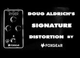 Foxgear RYDER - Doug Aldrich Signature Distortion