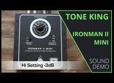 Tone King - Ironman II Mini - Sound Demo (no talking)
