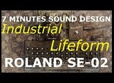 7 minutes sound design with the SE 02  How to design an organic Industrial Lifeform sound