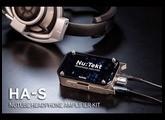 Nu:tekt HA-S: Nutube Headphone Amplifier Kit