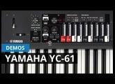 Yamaha YC61,video in Spanish.