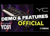 NEW Yamaha YC61 Stage Keyboard NAMM 2020 | OFFICIAL DEMO & FEATURES