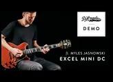 Excel Mini DC Demo with Myles Jasnowski | D'Angelico Guitars