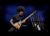 Jackson Spectra Bass JS3Q in Amber Blue Burst Demo