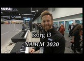 Korg i3 Arranger Workstation Hybrid - NAMM 2020