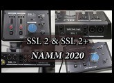 Solid State Logic SSL 2 & SSL 2+  USB Audio Interfaces - NAMM 2020