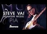 Steve Vai introduces the Ibanez PIA signature model