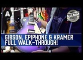 Full Walk-through Of The New Gibson, Epiphone & Kramer Booth! - NAMM 2020