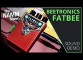 NAMM 2020: Beetronics Fatbee Overdrive - Sound Demo (no talking)