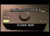 Audient EVO 4 & EVO 8 USB Audio Interfaces - NAMM 2020