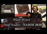 Pilot Wave Pedal | Midi Effect Sequencer (STEP Audio) - NAMM 2020