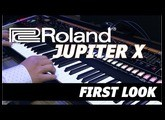 Roland Jupiter X First Look & Playing at NAMM 2020