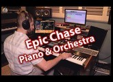 Korg Kronos 2 , Keyscape Piano and Native Instruments Orchestra