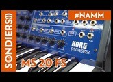 [NAMM2020] KORG MS 20 FS - FR