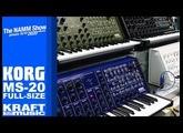 NAMM 2020 - Korg MS 20 FS Full Size