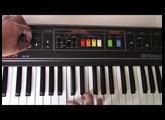 1980 Roland Saturn 09 SA-09 Stereo Organ Analog Synthesizer