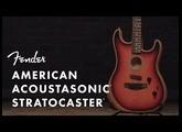 Inside The American Acoustasonic Stratocaster | Fender