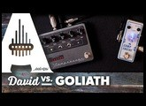 """David vs Goliath"" Pedal Challenge - Tone City Comp Engine vs Keeley Compressor Pro"