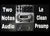 Two Notes Le Clean Preamp demo video by Shawn Tubbs