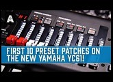 Yamaha YC61 Organ-focused Stage Keyboard | First 10 Preset Patches!