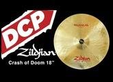 "Zildjian A FX Oriental Crash of Doom Cymbal 18"""