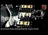 Supro Hampton Guitar - Official Demo by Mike Hermans
