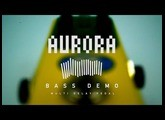 """BanananaEffects """"AURORA"""" Pitch shift delay pedal Bass demo"""