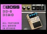 Boss DD-8 Digital Delay Demo with Slowdive Delays & Roland JC-40