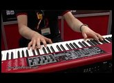 CLAVIA Nord Electro 3 HP video demo [Musikmesse 2011]