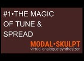 Modal SKULPT - TUTO 1 TUNE+SPREAD's MAGIC French + subs