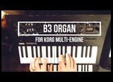 B3 Organ Oscillator and Effect for Korg's Multi-Engine