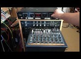 Arturia Drumbrute impact Drum Machine Snare in Eventide H910 Harmonizer