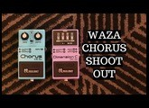 Boss CE2W vs DC2W: Waza Craft Chorus vs Dimension C Pedals 100% Tones