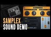 SampleX - Sampler Emulator  ( Sound Demo )