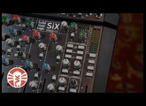 SSL SiX Desktop Mixer | Making A Lo-Fi Hip-Hop Beat | Vintage King