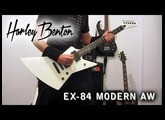Harley Benton EX-84 Modern AW,  Test/Review